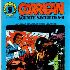Cómics: CORRIGAN AGENTE SECRETO X-9. SUPER COMICS GARBO. Nº 21. AÑO 1973. Lote 125903248
