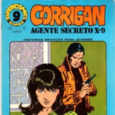 Cómics: CORRIGAN AGENTE SECRETO X-9. SUPER COMICS GARBO. Nº 9. AÑO 1973. Lote 125903515