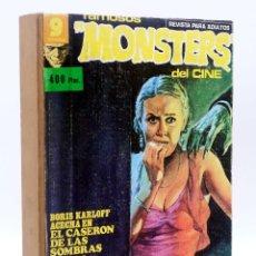 Cómics: FAMOSOS MONSTERS DEL CINE. TOMO CON NUMEROS 1 2 3 4 5 6 18 (VVAA) GARBO, 1975. Lote 128411648