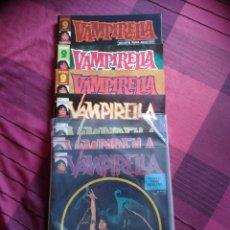 Cómics: VAMPIRELLA 1 AL 7. REVISTA PARA ADULTOS. GARBO, 1974. IMPECABLES. Lote 133219962