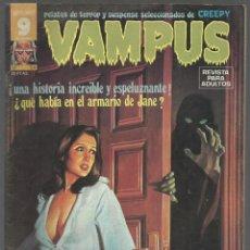 Cómics: VAMPUS Nº 54. FEBRERO 1976. MIGUEL AGUSTÍ, EL EXPRESIONISMO ALEMÁN, POSTER CENTRAL DE GERRY TALAOC. Lote 133268886