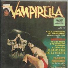 Cómics: VAMPIRELLA, Nº 4. MARZO 1975.ISIDRO NONES, P. NEARY, AURALEÓN, MAROTO, ALUCINACIONES HIPERESPACIO. Lote 133273802