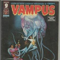 Cómics: VAMPUS Nº 60. AGOSTO 1976. ORTÍZ, VIGIL, AURALEÓN, SAL TRAPANI, CON POSTER CENTRAL DE J. ORTÍZ. Lote 133379734