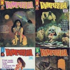 Cómics: VAMPIRELLA - 4 TOMOS - NUMS. 14, 15, 16 Y 17 DE 1973. Lote 133447998
