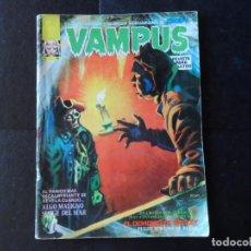 Cómics: VAMPUS Nº 46 EDITORIAL GARBO 1973 CON POSTER . Lote 133465534