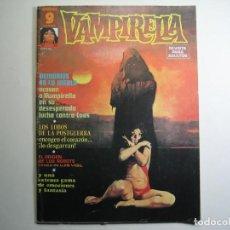 Comics: VAMPIRELLA (1974, GARBO) 10 · IX-1975 · DEMONIOS EN LA NIEBLA. Lote 134852718