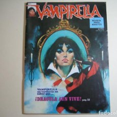 Cómics: VAMPIRELLA (1974, GARBO) 2 · I-1975 · ¡DRÁCULA AÚN VIVE!. Lote 134924674