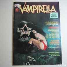 Comics: VAMPIRELLA (1974, GARBO) 4 · III-1975 · EL DESPERTAR DE LA MUERTE. Lote 134929026
