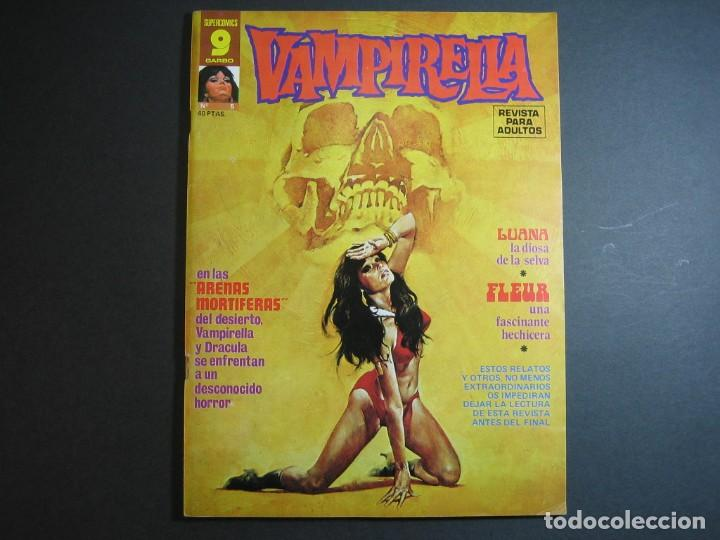 VAMPIRELLA (1974, GARBO) 5 · IV-1975 · ARENAS MORTÍFERAS. *** EXCELENTE *** (Tebeos y Comics - Garbo)