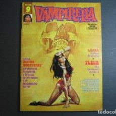 Cómics: VAMPIRELLA (1974, GARBO) 5 · IV-1975 · ARENAS MORTÍFERAS. *** EXCELENTE ***. Lote 134929354