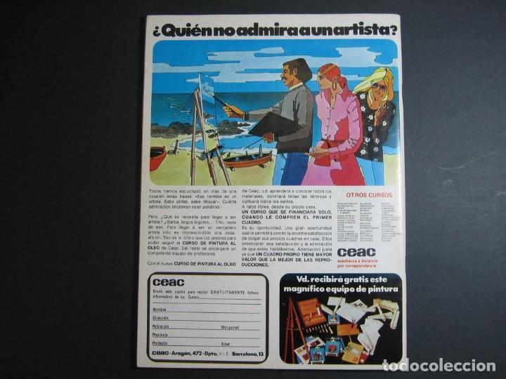 Cómics: VAMPIRELLA (1974, GARBO) 5 · IV-1975 · ARENAS MORTÍFERAS. *** EXCELENTE *** - Foto 2 - 134929354