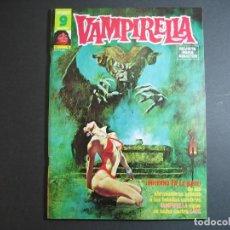 Cómics: VAMPIRELLA (1974, GARBO) 6 · V-1975 · ¡INFIERNO EN LA NIEVE! *** EXCELENTE ***. Lote 134930138