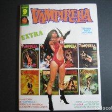 Cómics: VAMPIRELLA (1974, GARBO) EXTRA 1 · VII-1975 · VAMPIRELLA EXTRA. Lote 134932722