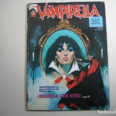 Cómics: VAMPIRELLA (1974, GARBO) 2 · I-1975 · ¡DRÁCULA AÚN VIVE!. Lote 134938914
