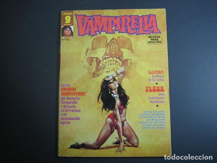 VAMPIRELLA (1974, GARBO) 5 · IV-1975 · ARENAS MORTÍFERAS (Tebeos y Comics - Garbo)