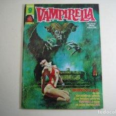 Cómics: VAMPIRELLA (1974, GARBO) 6 · V-1975 · ¡INFIERNO EN LA NIEVE!. Lote 134940038