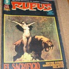 Cómics: RUFUS Nº 56 Y ULTIMO EN BUEN ESTADO VER FOTO Y LEER TODO. Lote 135028666