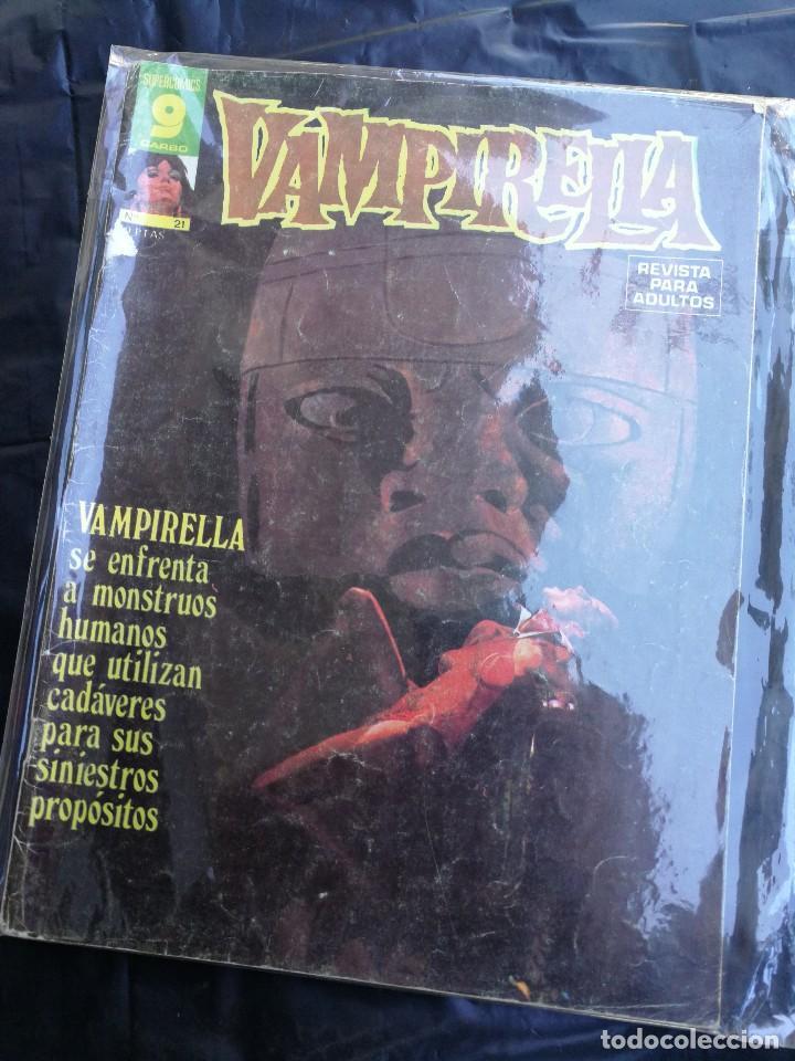 CÓMIC VAMPIRELLA- Nº 21, EDICIONES GARBO. segunda mano
