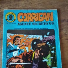 Cómics: CORRIGAN AGENTE SECRETO X-9. SUPER COMICS GARBO. Nº 21. AÑO 1973. Lote 138857790