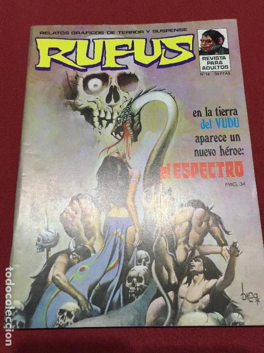 RUFUS NUMERO 14 MUY BUEN ESTADO (Tebeos y Comics - Garbo)