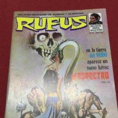 Cómics: RUFUS NUMERO 14 MUY BUEN ESTADO. Lote 139648110