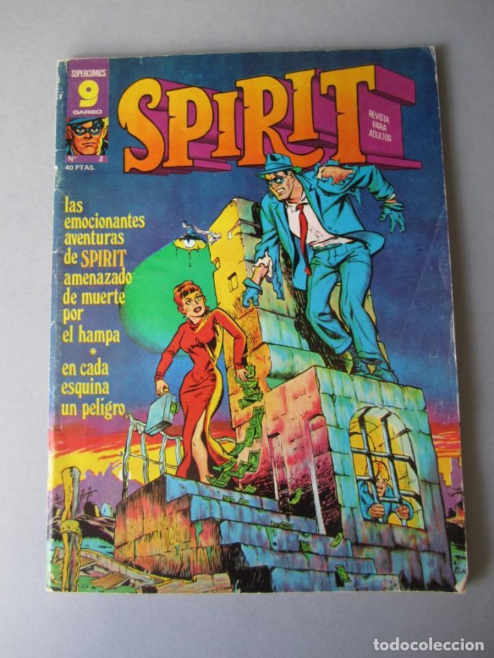 SPIRIT (1975, GARBO) 2 · VI-1975 · SPIRIT (Tebeos y Comics - Garbo)