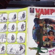 Cómics: TEBEOS Y COMICS: VAMPUS EXTRA / OTOÑO 1973. Lote 193403166