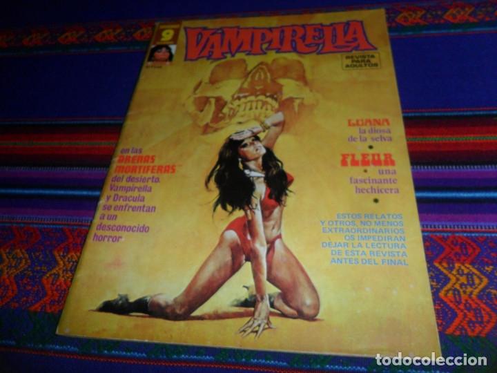Cómics: VAMPIRELLA NºS 5, 6 Y 24. GARBO 1975. CON REGALOS: CINE FANTÁSTICO BARBARELLA POR LUIS VIGIL Y MÁS. - Foto 2 - 50235606