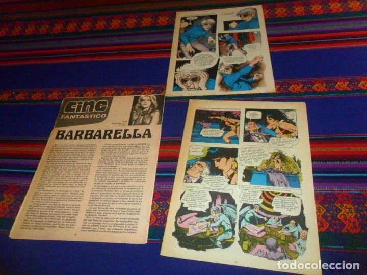 Cómics: VAMPIRELLA NºS 5, 6 Y 24. GARBO 1975. CON REGALOS: CINE FANTÁSTICO BARBARELLA POR LUIS VIGIL Y MÁS. - Foto 4 - 50235606