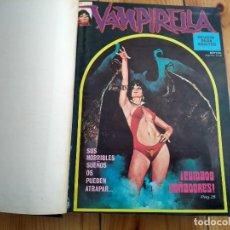 Cómics: VAMPIRELLA NºS 1 2 3 4 5 6 7 8 9 10 11 Y 12 EN UN LUJOSO TOMO DE IMPRENTA - EXCELENTE ESTADO. Lote 142764750