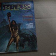 Cómics: RUFUS Nº 28, EDITORIAL GARBO. Lote 144236410