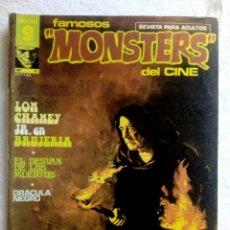 Cómics: FAMOSOS MONSTERS DEL CINE COMIC Nº11 // 1976. Lote 144369726