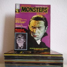 Cómics: FAMOSOS MONSTERS DEL CINE COLECCION COMPLETA ,¡¡¡¡ EXCELENTE ESTADO!!!!! RICHARD CORBEN,. Lote 144998702