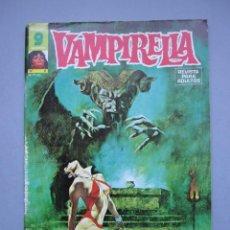 Comics: VAMPIRELLA (1974, GARBO) 6 · V-1975 · ¡INFIERNO EN LA NIEVE!. Lote 145518582