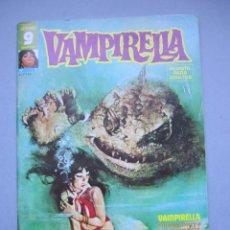 Fumetti: VAMPIRELLA (1974, GARBO) 9 · VIII-1975 · ¡EN EL INFIERNO!. Lote 145525478