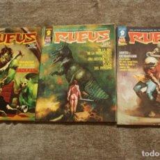 Cómics: LOTE DE 3 CUADERNOS RUFUS 25, 35 Y 38. GARBO EDITORIAL / IMD. . Lote 146733990