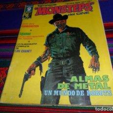 Cómics: FAMOSOS MONSTERS DEL CINE Nº 23. GARBO 1977 50 PTS. ALMAS DE METAL Y CARNE PARA FRANKENSTEIN. RARO.. Lote 147477958