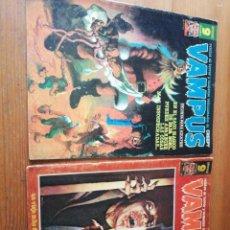 Cómics: LOTE DE 2 COMICS VAMPUS. NÚMEROS 74 Y 75. Lote 147985470