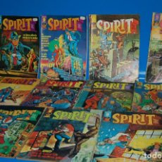 Cómics: LOTE DE COMICS SPIRIT-EDITORIAL GARBO 1975 NUMEROS DEL 1 AL 11-BUEN ESTADO. Lote 148026534