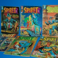 Cómics: LOTE DE COMICS SPIRIT-EDITORIAL GARBO 1975 NUMEROS 1-2-18-20-21-22. Lote 148028582