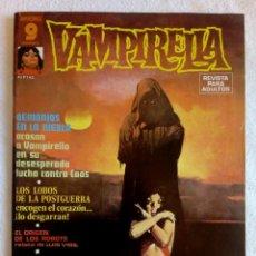 Cómics: VAMPIRELLA Nº 10 SUPERCOMICS GARBO 1973. Lote 149535694