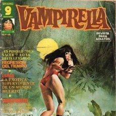Cómics: VAMPIRELLA- Nº 8 -GRAN CONTENIDO-JOSÉ GONZÁLEZ-JACK SPARLING-AURALEÓN-1975-DIFÍCIL-BUENO-0311. Lote 151890590