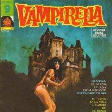 Cómics: VAMPIRELLA- Nº 11 -GRAN CONTENIDO-JOSÉ GONZÁLEZ-J. GUAL-FÉLIX MÁS-AURALEÓN-1975-DIFÍCIL-BUENO-0312. Lote 151901226