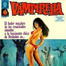 Cómics: VAMPIRELLA- Nº 16 -GRAN CONTENIDO-JOSÉ GONZÁLEZ-BERNIE WRIGTHSON-J.ORTIZ-1976-DIFÍCIL-BUENO-0314. Lote 151905790