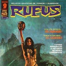 Cómics: RUFUS - RELATOS DE TERROR Y SUSPENSE- Nº 28 -LUIS BERMEJO-BRUCE JONES-1975-BUENO-ESCASO-LEAN-0336. Lote 152451878