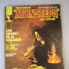 Cómics: FAMOSOS MONSTERS DEL CINE (1975, GARBO) 11 · III-1976 · FAMOSOS MONSTERS DEL CINE. Lote 152725470