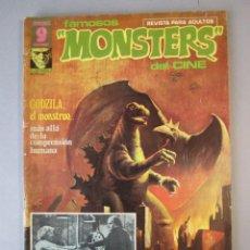 Cómics: FAMOSOS MONSTERS DEL CINE (1975, GARBO) 7 · XI-1975 · FAMOSOS MONSTERS DEL CINE. Lote 152725762