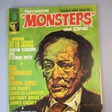 Cómics: FAMOSOS MONSTERS DEL CINE (1975, GARBO) 16 · VIII-1976 · FAMOSOS MONSTERS DEL CINE. Lote 152726170