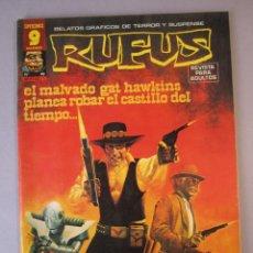 Cómics: RUFUS (1973, IMDE / GARBO) 49 · VI-1977 · RUFUS. Lote 152815478