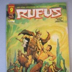 Cómics: RUFUS (1973, IMDE / GARBO) 51 · VIII-1977 · 8 TERRORÍFICAS HISTORIAS COMPLETAS. Lote 152815890